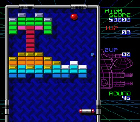 Скриншот №3. Arkanoid - Doh It Again
