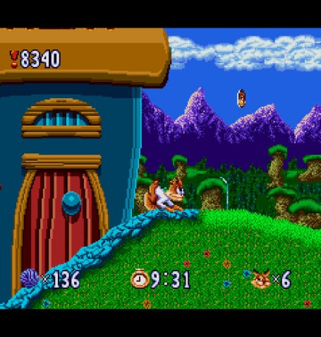 Скриншот №3. Bubsy in Claws Encounters of the Furred Kind